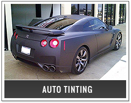 Car Stereos and Auto Window Tinting in Denton, TX | FlexShield | Car with Tinted Windows